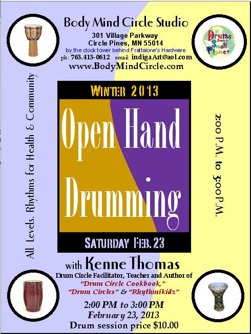 Kenne Thomas' Drum Circles & Gatherings