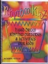 RhythmiKidz, elementary aged students hand drumming book.